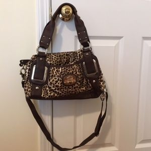 Kathy Van Zeeland - Leopard Print Shoulder Bag!
